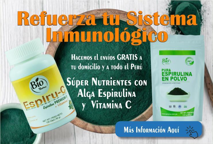 espirulina vitamina c